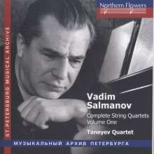 Vadim Salmanov (1912-1978): Sämtliche Streichquartette Vol.1, CD