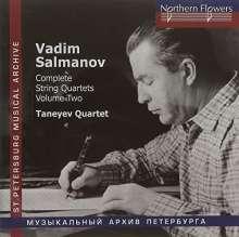Vadim Salmanov (1912-1978): Sämtliche Streichquartette Vol.2, CD