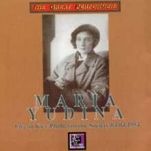 Maria Yudina - Live in Kiev, 2 CDs