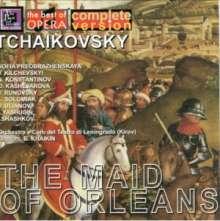 Peter Iljitsch Tschaikowsky (1840-1893): Die Jungfrau von Orleans, 2 CDs