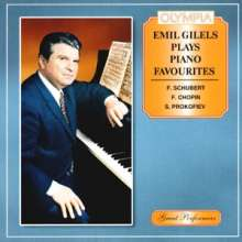 Emil Gilels plays Piano Favourites, CD