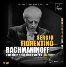 Sergio Fiorentino - Rachmaninoff, 6 CDs
