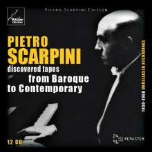 Pietro Scarpini - Discovered Tapes from Baroque to Contemporary, 12 CDs