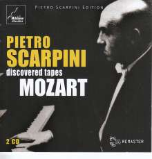 Pietro Scarpini - Discovered Tapes /  Mozart, 2 CDs
