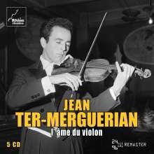 Jean Ter-Merguerian - L'ame du Violon, 5 CDs
