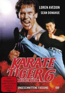 Karate Tiger 6, DVD