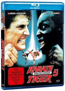 Karate Tiger 5 - König der Kickboxer (Blu-ray), Blu-ray Disc