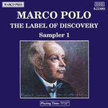 """Marco Polo-Sampler """"Label of Discovery"""", CD"""