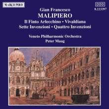 Gian Francesco Malipiero (1882-1974): Il Finto Arlecchino, CD