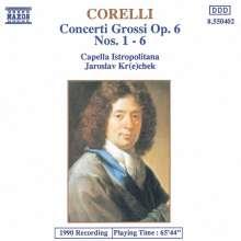 Arcangelo Corelli (1653-1713): Concerti grossi op.6 Nr.1-6, CD