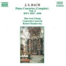 Johann Sebastian Bach (1685-1750): Klavierkonzerte BWV 1055-1058, CD