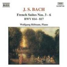 Johann Sebastian Bach (1685-1750): Französische Suiten BWV 814-817, CD