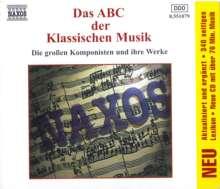 Naxos-Sampler:ABC der Klassischen Musik, CD