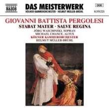 Giovanni Battista Pergolesi (1710-1736): Stabat Mater, CD