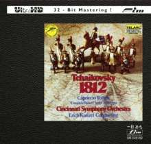 Peter Iljitsch Tschaikowsky (1840-1893): 1812 Ouvertüre op.49 (Ultra-HD-CD), CD