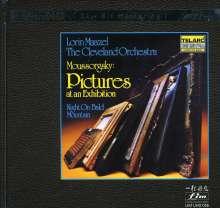 Modest Mussorgsky (1839-1881): Bilder einer Ausstellung (Orchester Fassung) (Ultra-HD-CD), CD