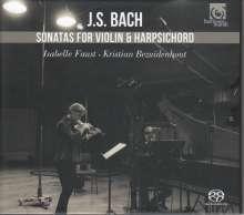 Johann Sebastian Bach (1685-1750): Sonaten für Violine & Cembalo BWV 1014-1019, Super Audio CD