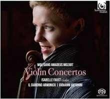 Wolfgang Amadeus Mozart (1756-1791): Violinkonzerte Nr.1-5 (SACD), 2 Super Audio CDs Non-Hybrid