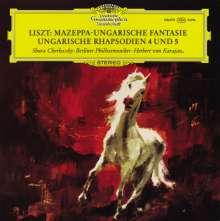 Franz Liszt (1811-1886): Ungarische Fantasie für Klavier & Orchester (120g), LP