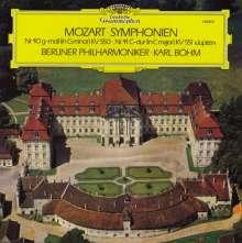 Wolfgang Amadeus Mozart (1756-1791): Symphonien Nr.40 & 41 (120g), LP
