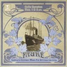 Gabriel Faure (1845-1924): Sonaten für Cello & Klavier Nr.1 & 2 (opp.109 & 117), CD