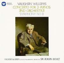Ralph Vaughan Williams (1872-1958): Konzert für 2 Klaviere & Orchester, CD