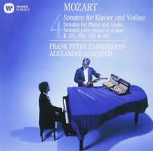 Wolfgang Amadeus Mozart (1756-1791): Sonaten für Violine & Klavier Vol.1-4 (Ultimate High Quality CD), CD