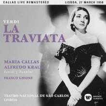 Giuseppe Verdi (1813-1901): La Traviata (Remastered Live Recording Lissabon 27.03.1958), 2 Super Audio CDs Non-Hybrid