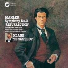 Gustav Mahler (1860-1911): Symphonie Nr.2 (Ultimate High Quality CD), 2 CDs