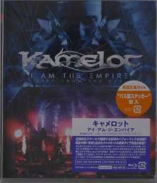 Kamelot: We Are The Empire - Live From The 013, 1 Blu-ray Disc und 2 CDs