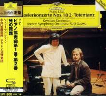 Franz Liszt (1811-1886): Klavierkonzerte Nr.1 & 2 (SHM-CD), CD