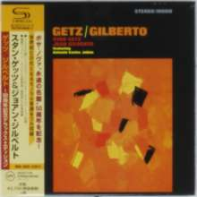 Stan Getz & João Gilberto: Getz/Gilberto: 50th Anniversary Deluxe Edition (SHM-CD) (Limited Papersleeve), CD