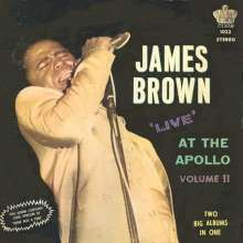 James Brown: Live At The Apollo Volume II, CD