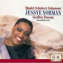 Jessye Norman - Händel / Schubert / Schumann, CD