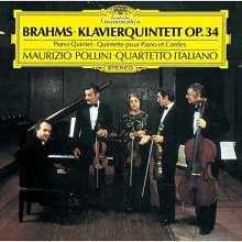 Johannes Brahms (1833-1897): Klavierquintett op.34 (SHM-CD), CD
