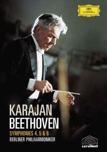 Ludwig van Beethoven (1770-1827): Symphonien Nr.4-6, DVD
