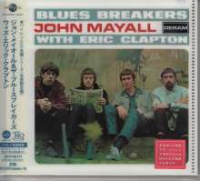 John Mayall & Eric Clapton: John Mayall & The Bluesbrakers With Eric Clapton (UHQ-CD/MQA-CD) (Reissue) (Limited-Edition), CD