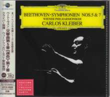 Ludwig van Beethoven (1770-1827): Symphonien Nr.5 & 7 (Ultimate High Quality CD), CD