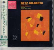 Stan Getz & João Gilberto: Getz / Gilberto (UHQ-CD/MQA-CD) (Reissue) (Limited-Edition), CD