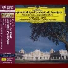 Joaquin Rodrigo (1901-1999): Concierto de Aranjuez für Gitarre & Orchester (SHM-SACD), Super Audio CD Non-Hybrid