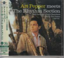 Art Pepper (1925-1982): Meets The Rhythm Section (UHQCD/MQA-CD) (Reissue) (Limited-Edition), CD