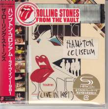 The Rolling Stones: From The Vault: Hampton Coliseum (Live in 1981) (SHM-CD) (Digisleeve), 2 CDs