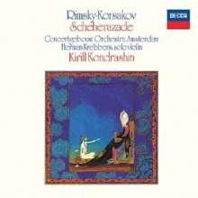 Nikolai Rimsky-Korssakoff (1844-1908): Scheherazade op.35 (Ultimate High Quality CD), CD
