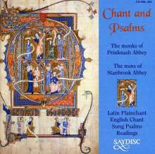 Chant and Psalms, CD