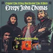 Creepy John Thomas: Trippin' Like A Dog And Rockin' Like A Bitch, 3 CDs