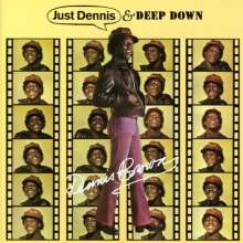 Dennis Brown: Just Dennis / Deep Down (22 Bonustracks), 2 CDs