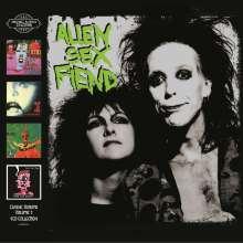 Alien Sex Fiend: Classic Albums Vol.2, 4 CDs