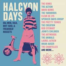 Halcyon Days: 60s Mod, R&B, Brit Soul, 3 CDs