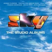 Sky: The Studio Albums 1979 - 1987, 7 CDs und 1 DVD