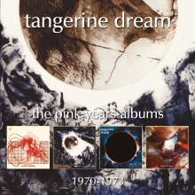 Tangerine Dream: The Pink Years Albums: 1970 - 1973, 4 CDs